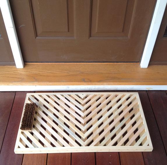 Vermont Wooden Doormats - Handcrafted Vermont Product