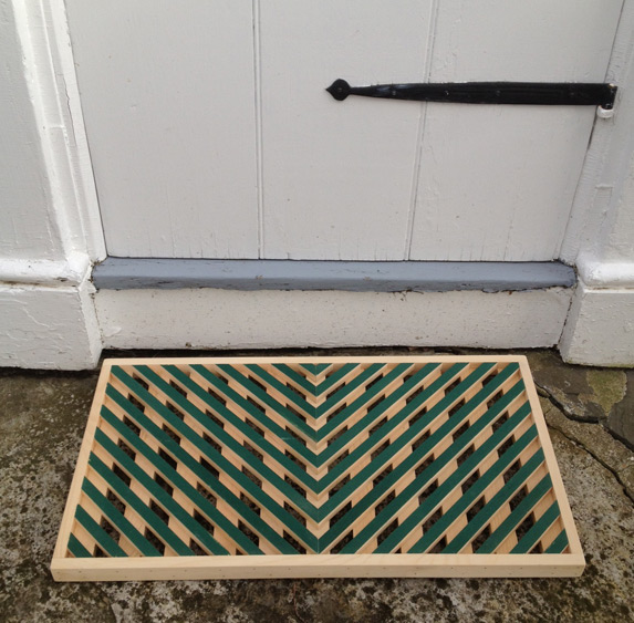Vermont Wooden Doormat Workshop